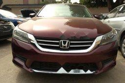 Nigeria Used Honda Accord 2013 Model Red