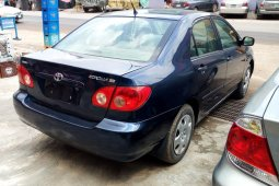 Neat and Clean Tokunbo 2005 Toyota Corolla for sale