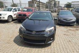 Toyota Corolla 2015 Model Full Option Grey/Silver
