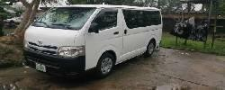 Very Clean Toyota HiAce 2013 Model