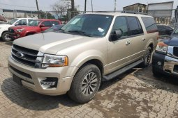Ford Expedition 2017 Model Gold Colour Full options