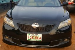 Tokunbo Toyota Camry 2007 Model Petrol Automatic Black Colour