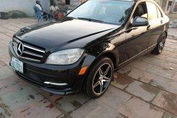 Nigerian Used Mercedes-Benz C300 2008 Petrol Automatic Black
