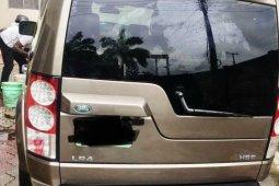 Nigeria Used Land Rover LR4 2011 Model Gold