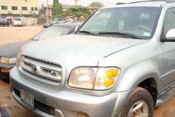 Nigeria Used Toyota Sequoia 2003 Model Silver