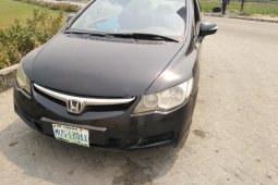 Nigeria Used Honda Civic 20007 Model Black