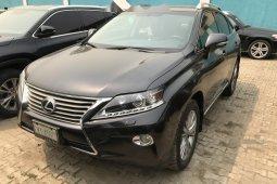 Nigeria Used Lexus RX 1500 2013 Model Black