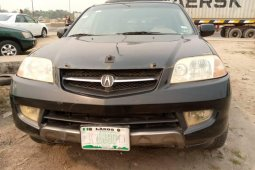 Nigeria Used Acura MDX 2003 Model Black