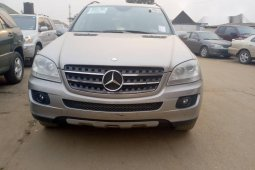 Foreign Used Mercedes-Benz ML350 2007 Model Silver