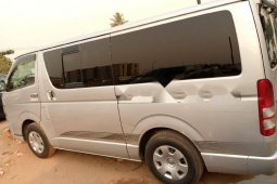 Foreign Used Toyota HiAce 2008 Model Silver
