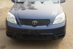 Foreign Used Toyota Matrix 2003 Model Blue