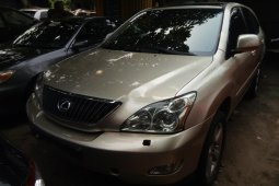 Foreign Used Lexus RX 2005 Model Gold