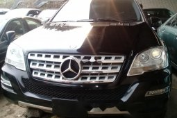 Foreign Used Mercedes-Benz ML350 2009 Model Black