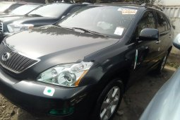 Foreign Used Lexus RX 2006 Model Gray