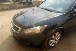 Nigeria Used Honda Accord 2008 Model Black