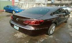 Nigeria Used Volkswagen Passat 2012 Model Brown