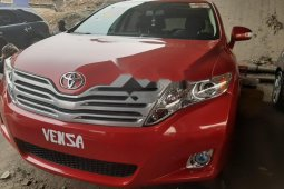 Foreign Used Toyota Venza 2010 Model Red