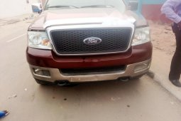 Foreign Used Ford F-150 2008 Model Red