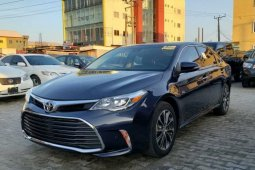 Foreign Used Toyota Avalon 2017 Model Black