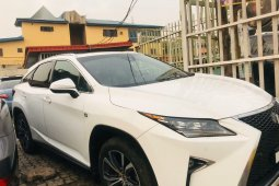 Foreign Used Lexus RX 2019 Model White