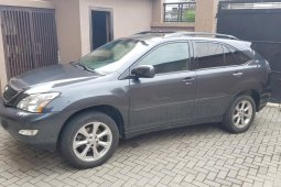 Nigeria Used Lexus RX 2009 Model Black