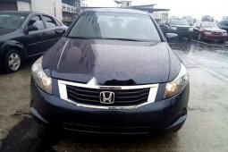 Foreign Used Honda Accord 2009 Model Blue
