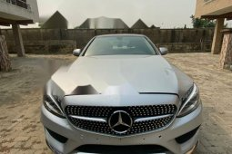 Foreign Used Mercedes-Benz C300 2016 Model Silver