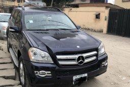 Nigeria Used Mercedes-Benz GL-Class 2008 Model Blue