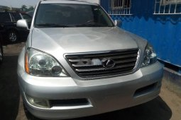 Foreign Used Lexus GX 2008 Model Silver