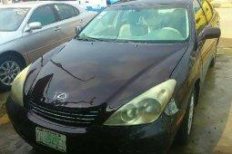 Nigeria Used Lexus ES 2006 Model Brown
