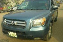 Nigeria Used Honda Pilot 2006 Model Blue