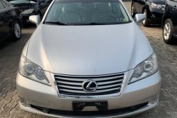 Foreign Used Lexus ES 2011 Model Silver