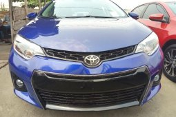 Foreign Used Toyota Corolla 2016 Model Blue