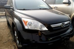 Foreign Used Honda CR-V 2008 Model Black