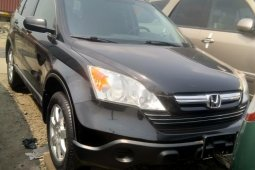 Foreign Used Honda CR-V 2009 Model Black