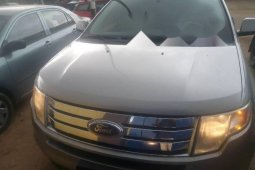 Foreign Used Ford Edge 2008 Model Gray
