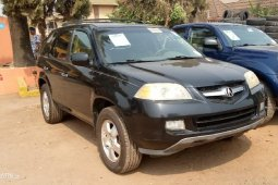 Foreign Used Acura MDX 2003 Model Black