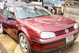 Nigeria Used Volkswagen Golf 2003 Model Red
