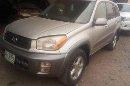 Nigeria Used Toyota RAV4 2003 Model Beige
