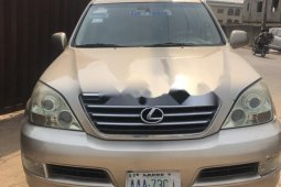 Nigeria Used Lexus GX 2006 Model Silver