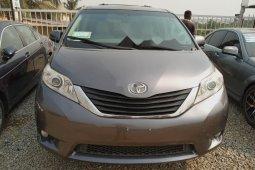 Nigeria Used Toyota Sienna 2013 Model Gray