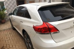 Foreign Used Toyota Venza 2014 Model White
