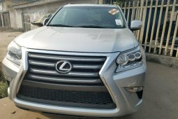 Foreign Used Lexus GX 2016 Model Silver