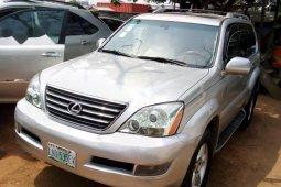 Nigeria Used Lexus GX 2007 Model Silver