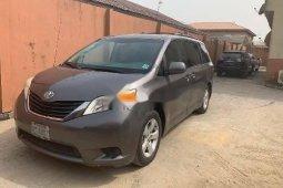 Nigeria Used Toyota Sienna 2011 Model Gray