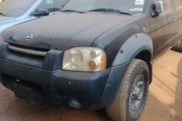 Foreign Used Nissan Frontier 2003 Model Black