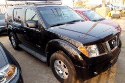 Foreign Used Nissan Pathfinder 2006 Model Black