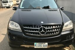 Nigeria Used Mercedes-Benz ML350 Model Black
