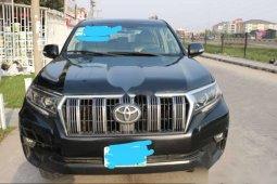 Nigeria Used Toyota Land Cruiser Prado 2018 Model Black