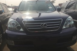 Foreign Used Lexus GX 2008 Model Blue